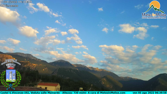 Webcam di Castel San Vincenzo