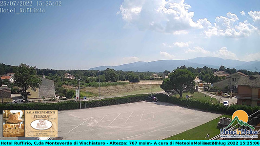 Webcam di Monteverde di Vinchiaturo