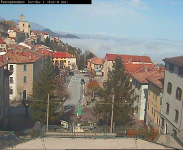 Webcam di Pescopennataro