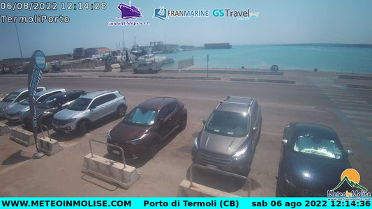 Webcam di Termoli imbarco Isole Tremiti